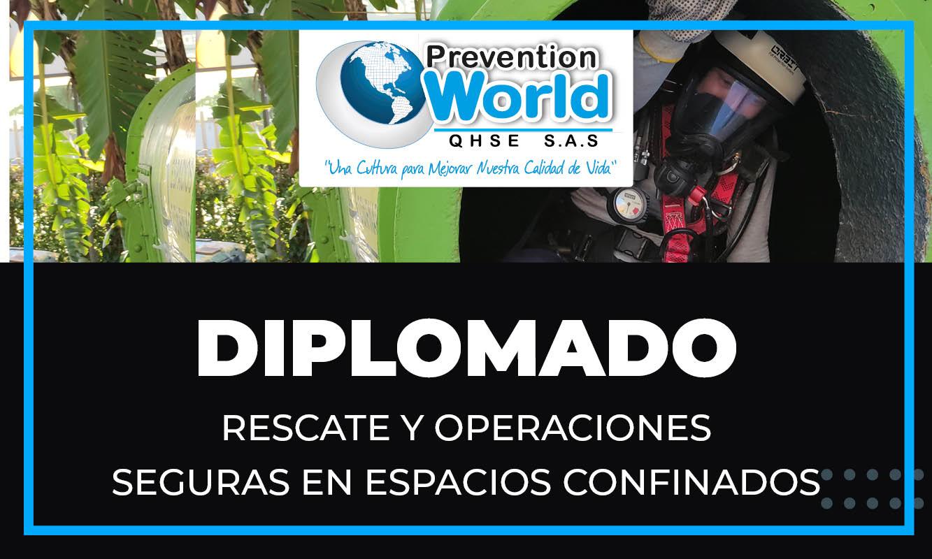 Diplomado Rescate y Operaciones Seguras en Espacios Confinados