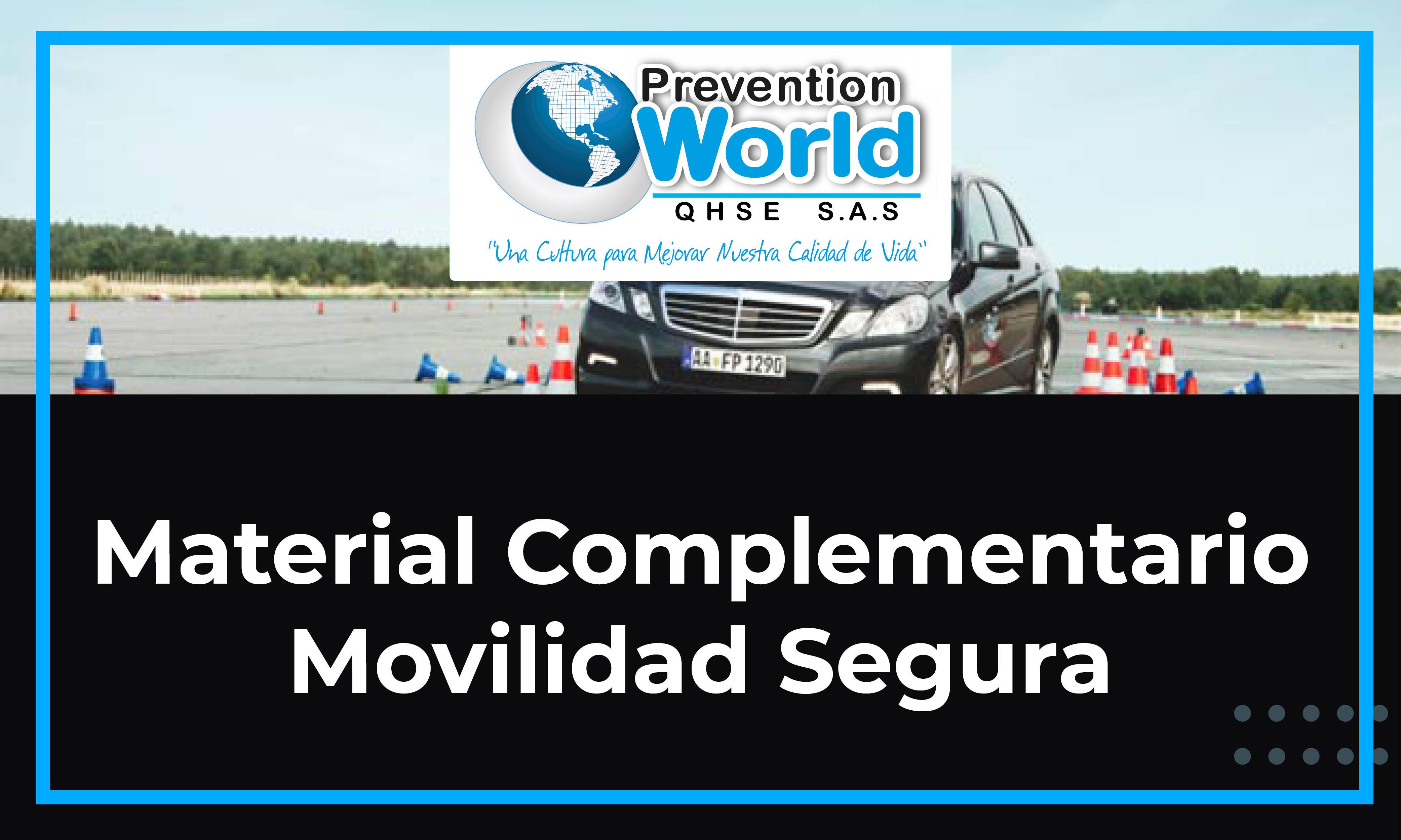 Movilidad Segura - Operativos