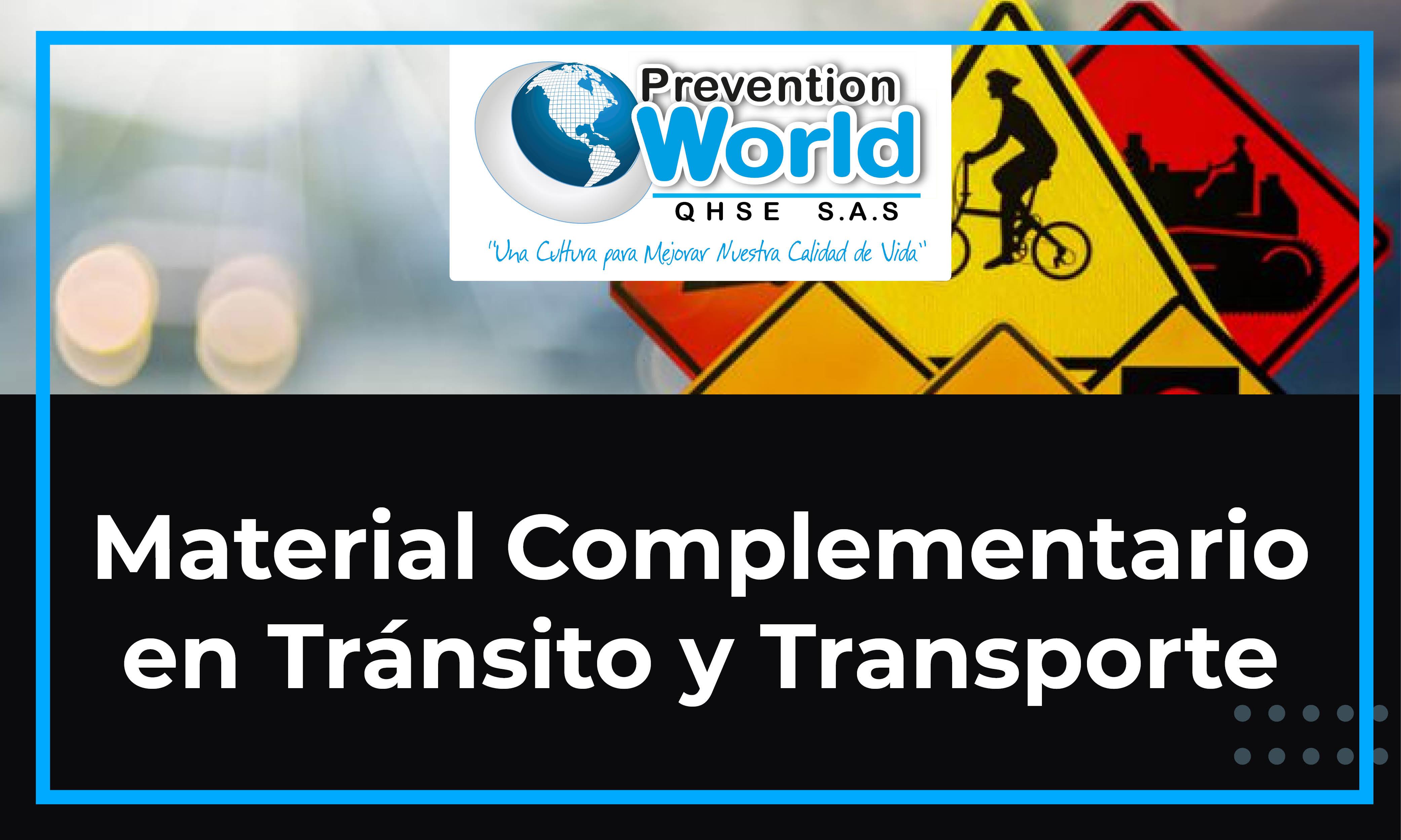 Material Complementario en Tránsito y Transporte